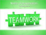 Teamwork Puzzle PowerPoint Templates