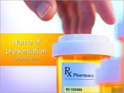 薬局事業 PowerPointプレゼンテーションのテンプレート