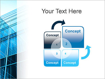 Arranha-céu Modelos de apresentações PowerPoint - Slide 5