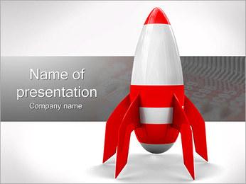 Red Rocket Modèles des présentations  PowerPoint