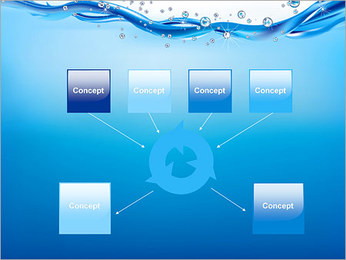 Abstract Water PowerPoint Templates - Slide 10