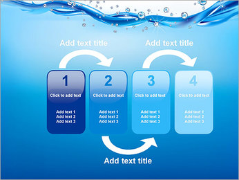 Abstract Water PowerPoint Template - Slide 11