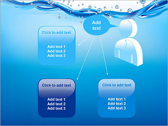 Abstract Water PowerPoint Template - Slide 12