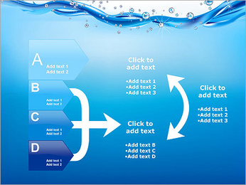 Abstract Water PowerPoint Template - Slide 16