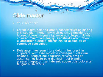 Abstract Water PowerPoint Template - Slide 2