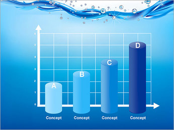 Abstract Water PowerPoint Template - Slide 21