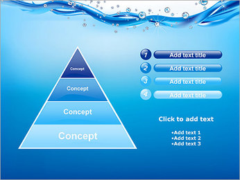 Abstract Water PowerPoint Template - Slide 22
