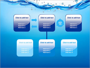 Abstract Water PowerPoint Template - Slide 23