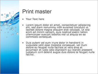 Abstract Water PowerPoint Templates - Slide 24