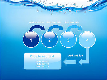 Abstract Water PowerPoint Template - Slide 4