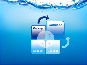 Abstract Water PowerPoint Template - Slide 5