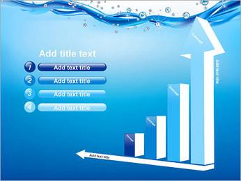 Abstract Water PowerPoint Template - Slide 6