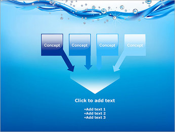 Abstract Water PowerPoint Template - Slide 8