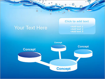 Abstract Water PowerPoint Template - Slide 9