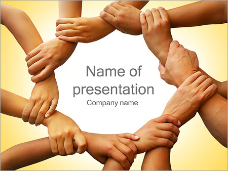 Mutual Work PowerPoint Template