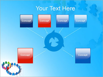Dos plazas de equipo Plantillas de Presentaciones PowerPoint - Diapositiva 10