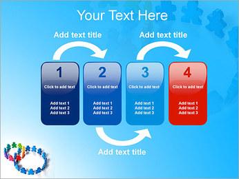Dos plazas de equipo Plantillas de Presentaciones PowerPoint - Diapositiva 11