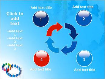 Dos plazas de equipo Plantillas de Presentaciones PowerPoint - Diapositiva 14