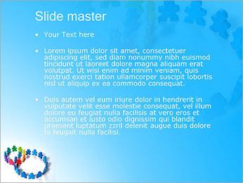 Dos plazas de equipo Plantillas de Presentaciones PowerPoint - Diapositiva 2