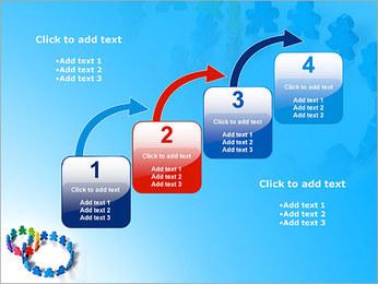 Dos plazas de equipo Plantillas de Presentaciones PowerPoint - Diapositiva 20