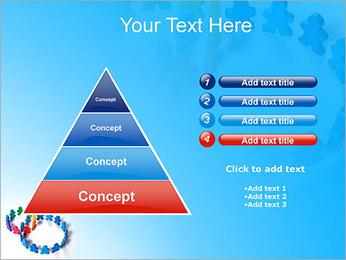 Dos plazas de equipo Plantillas de Presentaciones PowerPoint - Diapositiva 22