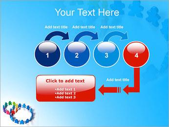 Dos plazas de equipo Plantillas de Presentaciones PowerPoint - Diapositiva 4
