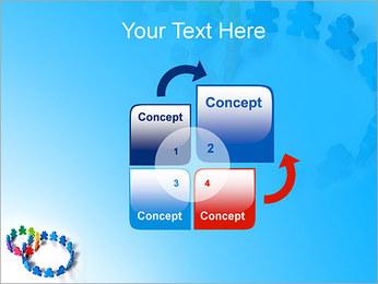 Dos plazas de equipo Plantillas de Presentaciones PowerPoint - Diapositiva 5