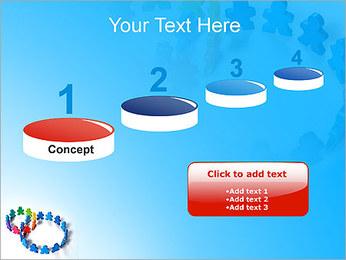 Dos plazas de equipo Plantillas de Presentaciones PowerPoint - Diapositiva 7