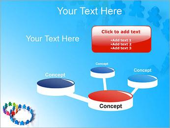 Dos plazas de equipo Plantillas de Presentaciones PowerPoint - Diapositiva 9
