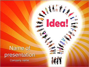Common Idea PowerPoint Template