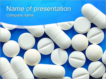 White Pills PowerPoint Template