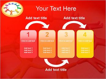 Círculo Equipo Plantillas de Presentaciones PowerPoint - Diapositiva 11