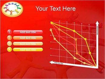 Círculo Equipo Plantillas de Presentaciones PowerPoint - Diapositiva 13