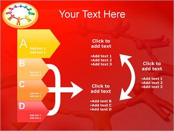 Círculo Equipo Plantillas de Presentaciones PowerPoint - Diapositiva 16