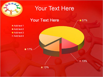 Círculo Equipo Plantillas de Presentaciones PowerPoint - Diapositiva 19