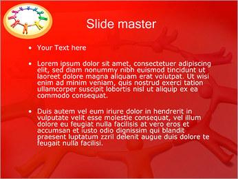 Círculo Equipo Plantillas de Presentaciones PowerPoint - Diapositiva 2