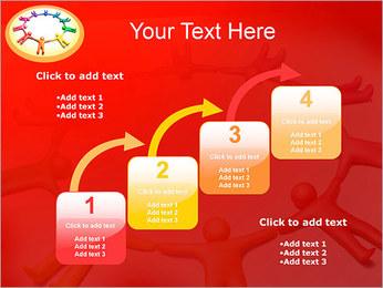 Círculo Equipo Plantillas de Presentaciones PowerPoint - Diapositiva 20