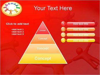 Círculo Equipo Plantillas de Presentaciones PowerPoint - Diapositiva 22