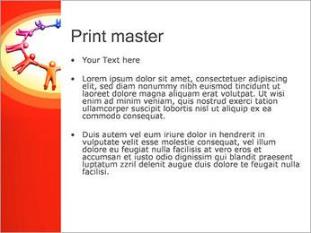 Círculo Equipo Plantillas de Presentaciones PowerPoint - Diapositiva 24