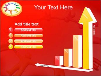 Círculo Equipo Plantillas de Presentaciones PowerPoint - Diapositiva 6