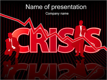 Business Crisis PowerPoint Template