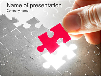 Make Puzzle PowerPoint Template
