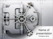 Bank Lock PowerPoint Templates