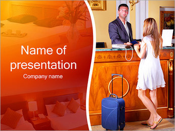 Hotel Check-In PowerPoint Template