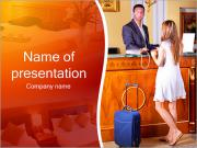 Hotel Check-In PowerPoint Templates