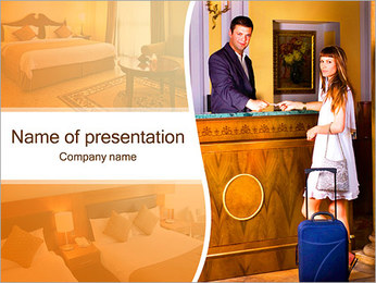 Reception Service PowerPoint Template