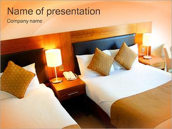 Standard Hotel Room PowerPoint Template