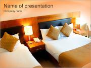 Standard Hotel Room PowerPoint Templates
