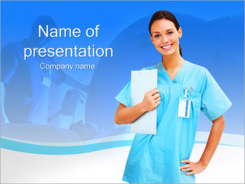Medical Worker PowerPoint Template