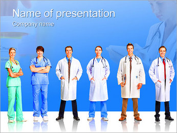 Medical Stuff PowerPoint Template
